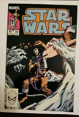 Star Wars #78 (1983) VF/NM 9.0 HIGH GRADE SEE MY OTHER STAR WARS BOOKS WEDGE APP