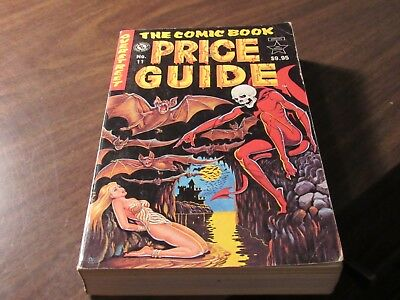 The Official Overstreet Comic Book Price Guide 11th Edition Pricing Catalog
