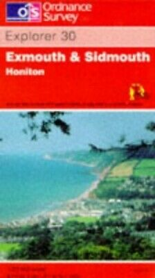 Exmouth and Sidmouth (Explorer Maps 30 M... by Ordnance Survey Sheet map, folded