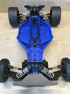 Factory Works Traxxas v2 Slam It Lowering Kit Shock Towers Rustler Bandit Slash