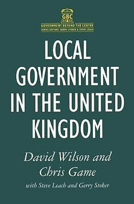 Local Government in the United Kingdom (Government... by Stoker, Gerry Paperback
