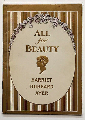 A COSMETIC TRADE CATALOG. From Harriet Hubbard Ayer, New York. 1934.