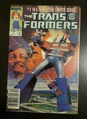 The Transformers #1 (1984) ORIGIN AND 1ST APPEARANCE OF AUTOBOTS DECEPTICONS KEY