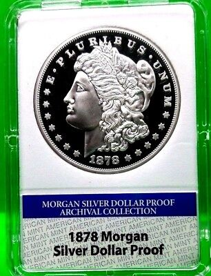 1878 Morgan Silver Dollar Proof Archival Edition Coin Proof