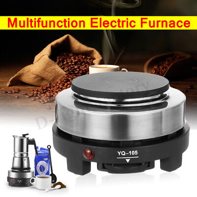Portable Multifunction Mini Stove Electric Hot Plate Hob Cook Coffee Heater 500W