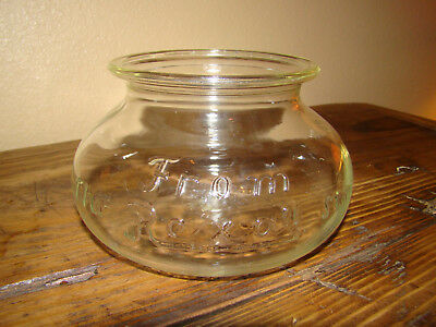 Antique Rexall Pharmacy Glass Jar Apothecary