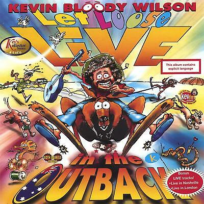 Kevin Bloody Wilson - Let Loose Live In The Outback Cd ~ Australian Comedy *New*