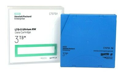 Genuine New Hp Enterprise Lto-5 Ultrium Rw 3Tb Data Cartridge C7975A