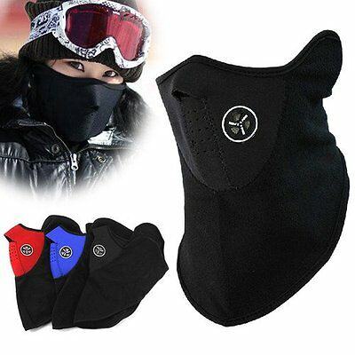 Ski Snowboard Motorcycle Bike Bicycle Winter Warm Sport Face Mask Neck Warmer AU