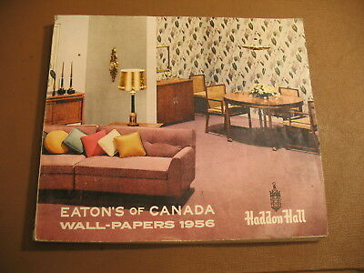1956 Eaton's Department Store  Wall-Paper Catalog