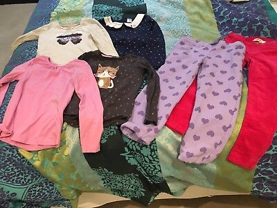 Bulk girls clothes size 6 - Two Pants In Excellent Cond. 4 Tops In V. Good Cond