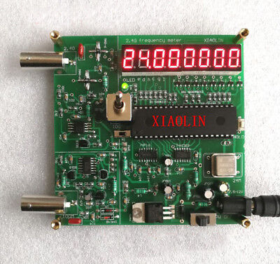 2.4G Digital frequency Counter meter Crystal test 8-digit led digital tube