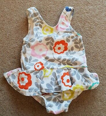 Baby Boden Floral Print Swimming Costume Size 12-18 Months