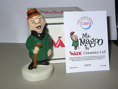Nice Wade Mr.magoo With Box And Certificate.1998