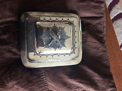 Beautiful  butter dish with glass part