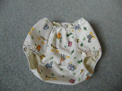 motherease large nappy wrap in savannah pattern