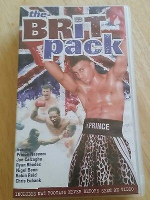 The Brit Pack Vhs Video Tape