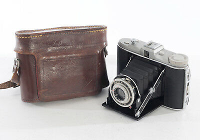FAULTY Agfa Isolette I 120 6x6 Camera with Apotar 85mm f/4.5 lens (4157R)