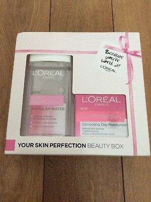Loreal Ladies Skin Perfection  Gift Set .. New .. Christmas Gift