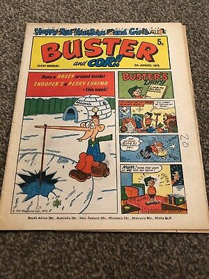 Buster and Cor!!  4 Jan 1975