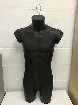 Mannequin Male Torso wall mounted