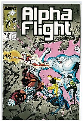 Marvel Alpha Flight 61 and 62
