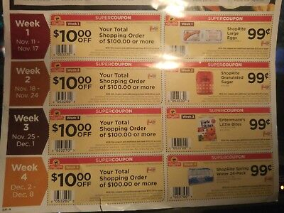 Shop Rite Super Saver Ad