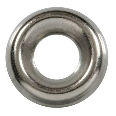 1000 Qty #8 Stainless Steel Countersunk Finish Washers | 304 SS Finishing Cup (B