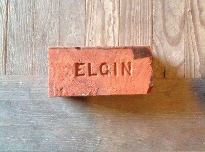 Antique Brick Stamped ***** Elgin   *******