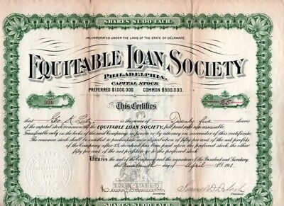 Lot of 7 different stock certificates 1908 to 1911