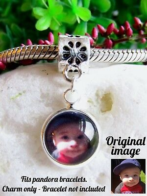 Personalised Photo Charm For Bracelet Picture Memory Gift Valentines Day Gift