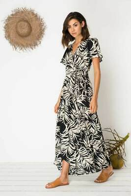 Bird & Kite Return To Eden Dress - Sheltering Palm Black