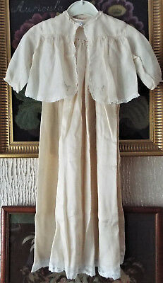 Baby Christening Gown/plus Jacket
