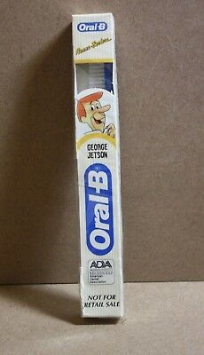 1990 Hanna-Barbera, George Jetson Oral-B Toothbrush New in Packaging