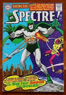 SHOWCASE #60 The Spectre! DC Comics, Jan - Feb 1966 Free Returns