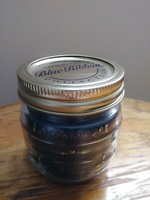 Longaberger Blue Ribbon Candle Jar - Berry - New!