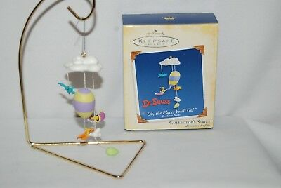 Hallmark  Dr Seuss Series Ornament #7 Oh The Places You'll Go