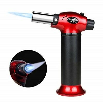 Kitchen Torch Refillable Blow Culinary Lighter Chef Cooking Food Adjustable