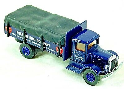AHL Mack Model BM Peabody Coal Company Delivery Truck, 1:64 Die Cast Model