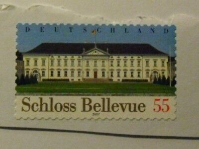 Schloß Bellevue briefmarke 55cent
