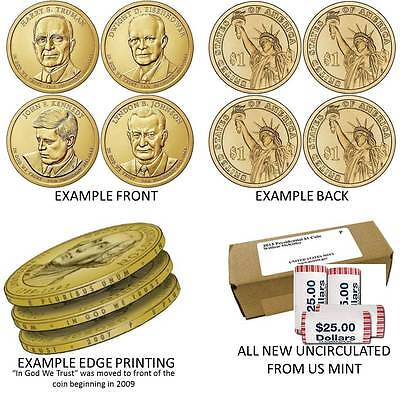 2007-2016 Complete Set Of 39 President Dollar Coins Issued From 2007 Thru 2016