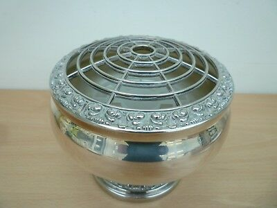 Vintage Ianthe Silver Plated Rose Bowl