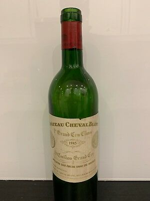 Bouteille Vide Chateau Cheval Blanc 1985