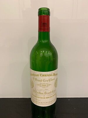 Bouteille Vide Chateau Cheval Blanc 1989