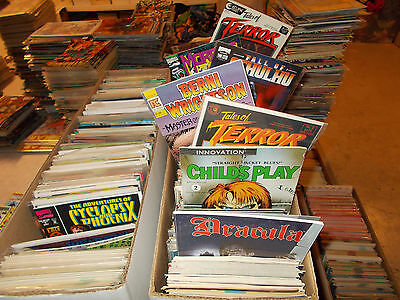 Lot of 300+ ALL HORROR Comic Book Grab Bag An Entire LONGBOX Zombies TERROR +