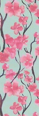 Blossoms on Trees decorative paper, laminated bookmark
