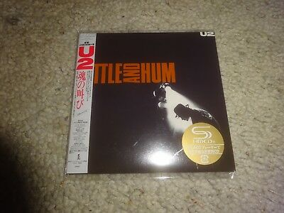 U2/'rattle And Hum' *japan 2017 New/sealed/remastered Mini-Lp Shm-Cd*