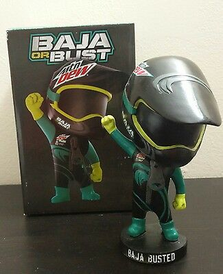 BRAND NEW LIMITED EDITION RARE Mountain Dew Baja Blast Baja or Bust Bobblehead