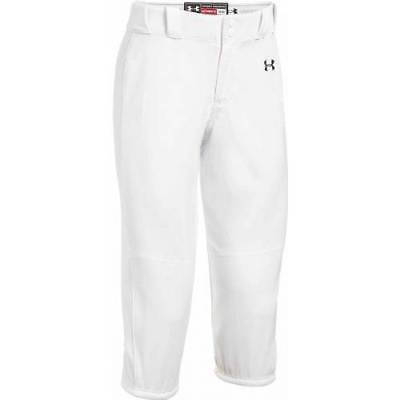 UNDER ARMOUR Womens Icon Knicker 3/4 Softball Pants | White | Small | NWT