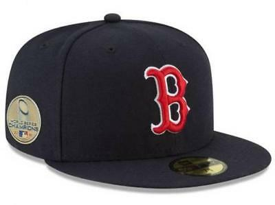 0201ff6fecccd 2018 MLB World Series Champions Champs Boston Red Sox New Era 59FIFTY Fitted  Hat